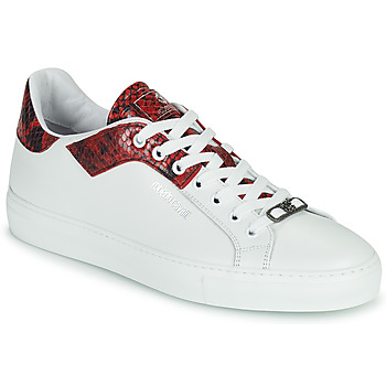Shoes Men Low top trainers Roberto Cavalli KALE White / Red