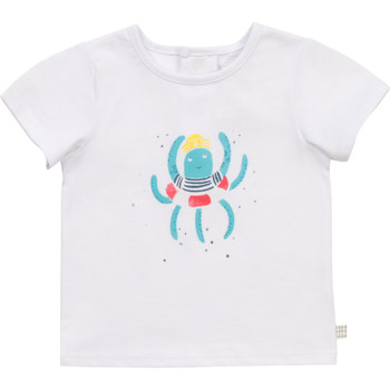 material Boy short-sleeved t-shirts Carrément Beau Y95275-10B White