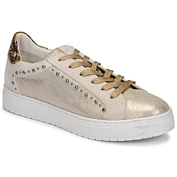 Shoes Women Low top trainers Regard HAVRES Gold