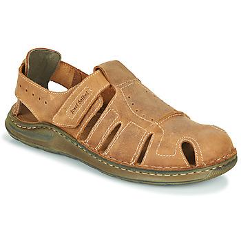 Shoes Men Sandals Josef Seibel MAVERICK 01 Brown