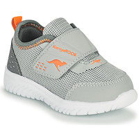 Shoes Boy Low top trainers Kangaroos KI-DINKY V Grey / Orange