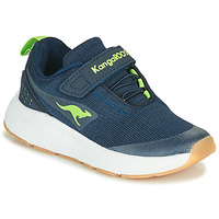 Shoes Boy Low top trainers Kangaroos KB-HOOK EV Blue / Green