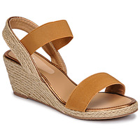 Shoes Women Sandals Spot on F10865 Brown