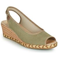 Shoes Women Espadrilles Damart 43775 Kaki