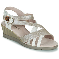 Shoes Women Sandals Damart 61170 Silver