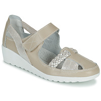 Shoes Women Ballerinas Damart 61157 Beige