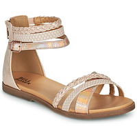 Shoes Girl Sandals Bullboxer ALM013F1S-ROGO Pink