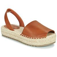 Shoes Women Sandals Emmshu LUZIA Cognac