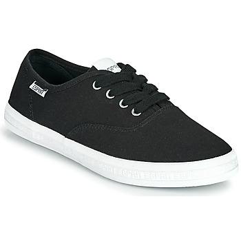 Shoes Women Low top trainers Esprit NITA Black