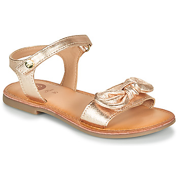 Shoes Girl Sandals Gioseppo CLEBER Pink / Gold