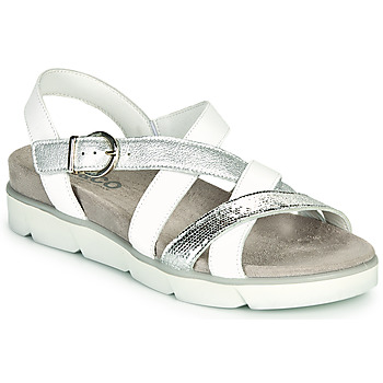 Shoes Women Sandals IgI&CO ZERMINA White / Silver