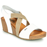 Shoes Women Sandals IgI&CO PICOLINA White / Gold
