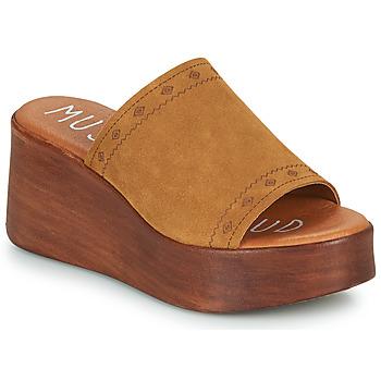 Shoes Women Mules Musse & Cloud MANA Cognac