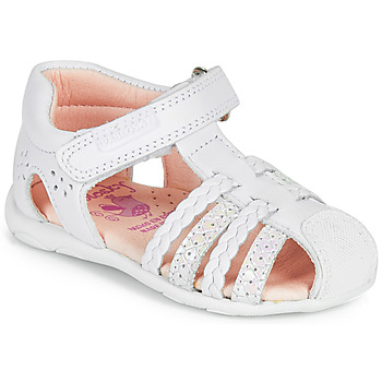 Shoes Girl Sandals Pablosky ASSO White
