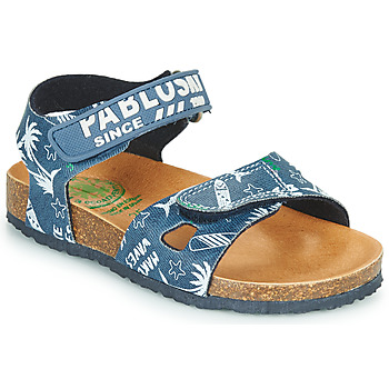 Shoes Boy Sandals Pablosky FOUNIR Blue