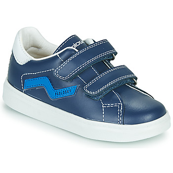 Shoes Boy Low top trainers Pablosky CARAMELA Marine