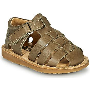 Shoes Boy Sandals Citrouille et Compagnie MISTIGRI Kaki