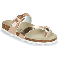 Shoes Girl Mules Citrouille et Compagnie OMILA Pink / Gold