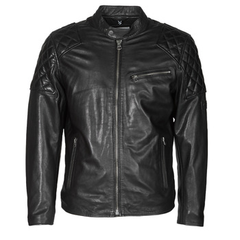 material Men Leather jackets / Imitation le Pepe jeans DONNIE Black