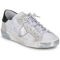 Shoes Women Low top trainers Philippe Model PARIS White