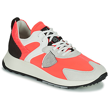 Shoes Women Low top trainers Philippe Model ROYALE Coral
