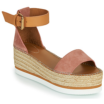 Shoes Women Espadrilles See by Chloé GLYN SB32201 Pink / Nude