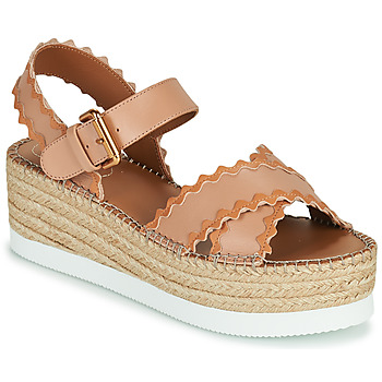 Shoes Women Sandals See by Chloé GLYN SB36112 Pink / Nude