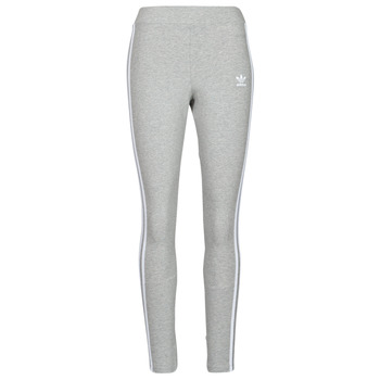 material Women leggings adidas Originals 3 STRIPES TIGHT Grey