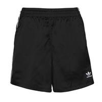 material Women Shorts / Bermudas adidas Originals SATIN SHORTS Black