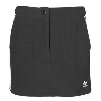 material Women Skirts adidas Originals FLEECE SKIRT Black