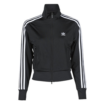 material Women Jackets adidas Originals FIREBIRD TT PB Black