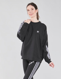 material Women sweaters adidas Originals OS SWEATSHIRT Black