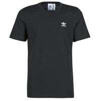 material Men short-sleeved t-shirts adidas Originals ESSENTIAL TEE Black