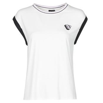 material Women Tops / Sleeveless T-shirts Volcom SIIYA KNIT TOP White