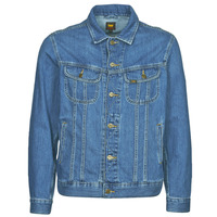 material Men Denim jackets Lee LEE RIDER JACKET Blue