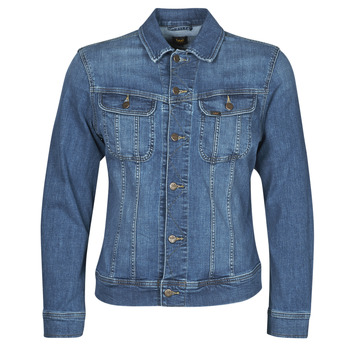 material Men Denim jackets Lee SLIM RIDER JACKET Blue