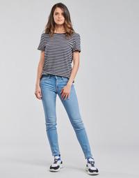 material Women Skinny jeans Lee SCARLETT Blue