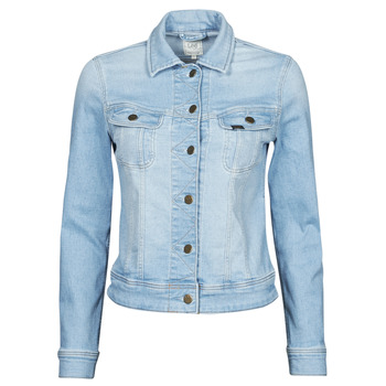 material Women Denim jackets Lee SLIM RIDER Blue