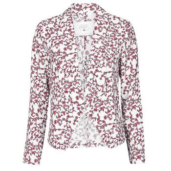 material Women Jackets / Blazers Le Temps des Cerises GOYA White