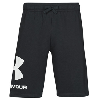 material Men Shorts / Bermudas Under Armour UA RIVAL FLC BIG LOGO SHORTS Black
