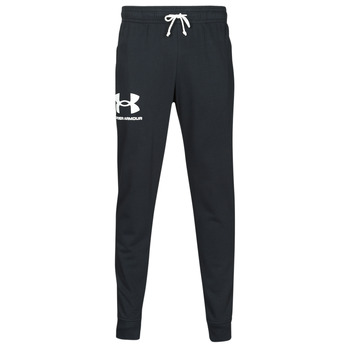 material Men Tracksuit bottoms Under Armour UA RIVAL TERRY JOGGER Black