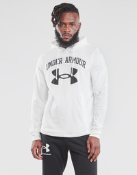 material Men sweaters Under Armour UA RIVAL FLEECE BIG LOGO HD White