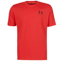 material Men short-sleeved t-shirts Under Armour UA SPORTSTYLE LC SS Red