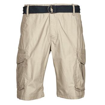 material Men Shorts / Bermudas Petrol Industries SHORT CARGO Beige