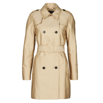 material Women Trench coats Esprit TRENCH COURT Beige
