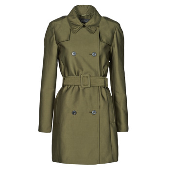 material Women Trench coats Esprit TRENCH COURT Green / Olive
