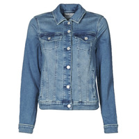 material Women Denim jackets Esprit JOGGER JACKET Blue