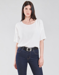 material Women Blouses Esprit COL V LUREX White