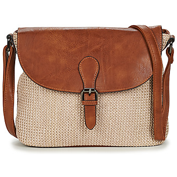 Bags Women Shoulder bags Casual Attitude OMY Beige / Brown