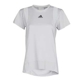 material Women short-sleeved t-shirts adidas Performance TRNG TEE H.RDY Grey
